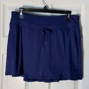Kyodan Navy Blue Sports Skort Tennis size Large